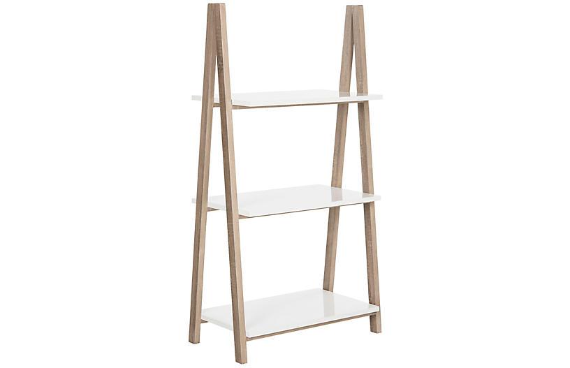 Hilde Bookshelf, White