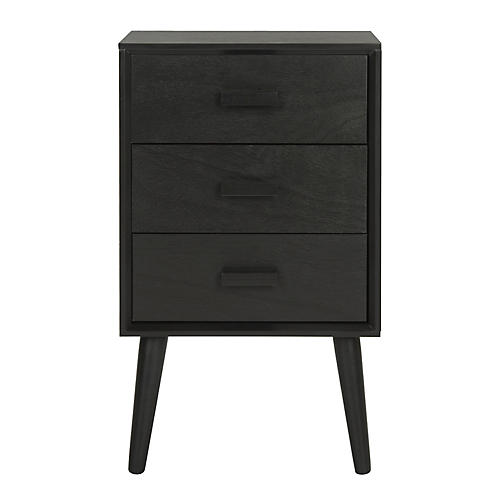 Pomona Nightstand, Black