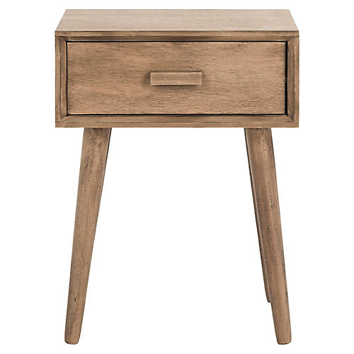 Lyle Nightstand, Chocolate