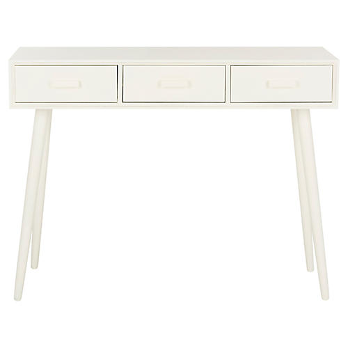Albus Console, Distressed White