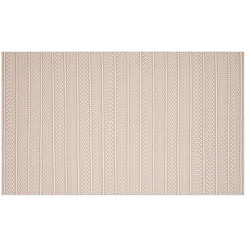 Tauk Flat-Weave Rug, Ivory/Gray