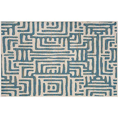 Telford Rug, Ivory/Blue