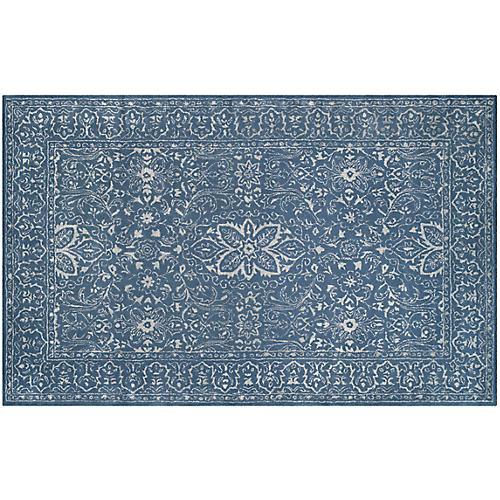 Welliver Rug, Blue/Ivory