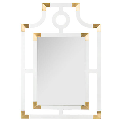 Shayna Acrylic Mirror, Clear