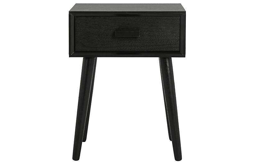 Lyle Nightstand, Black