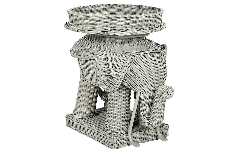 Snyder Side Table, Gray