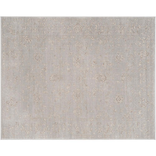 Padilla Rug, Light Gray/Cream