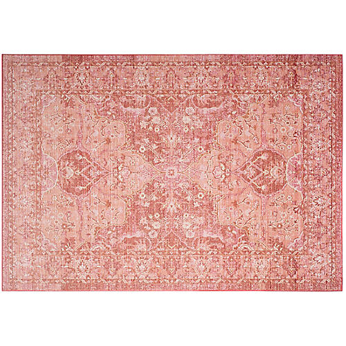 Tarasco Rug, Rose/Red