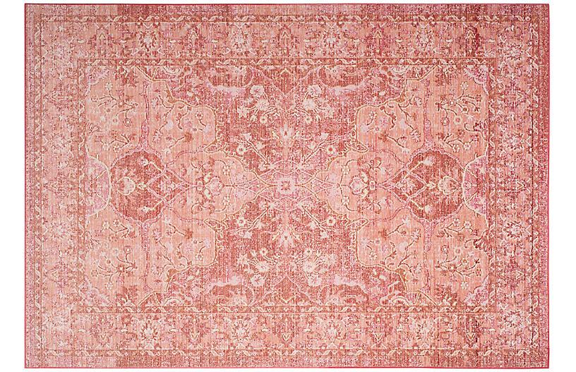 Tarasco Rug, Rose/Red