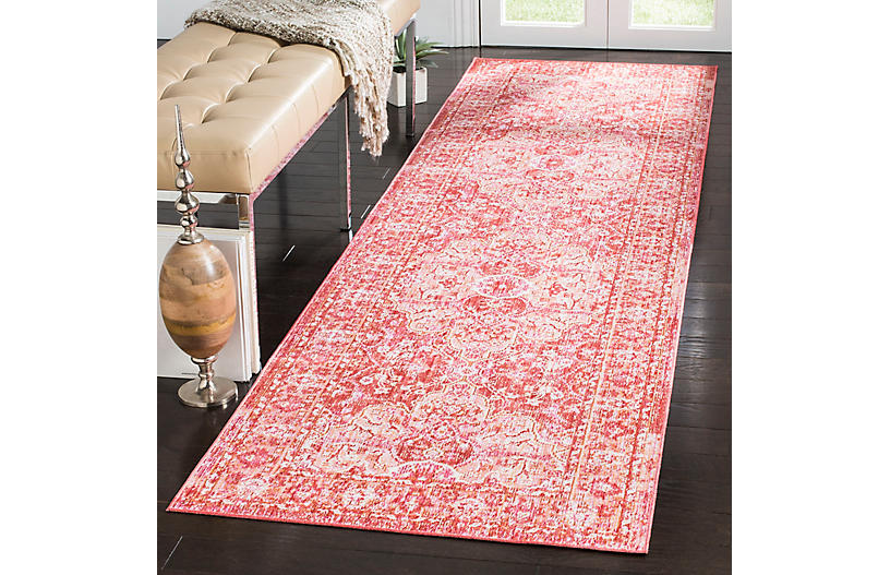 Tarasco Rug Rose Red Traditional Rugs By Style Rugs
