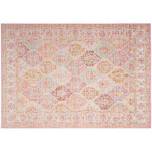 Addae Rug, Pink/Multi
