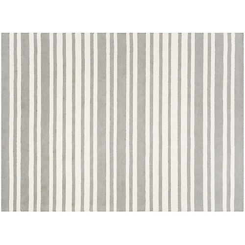 Pift Rug, Gray/Multi