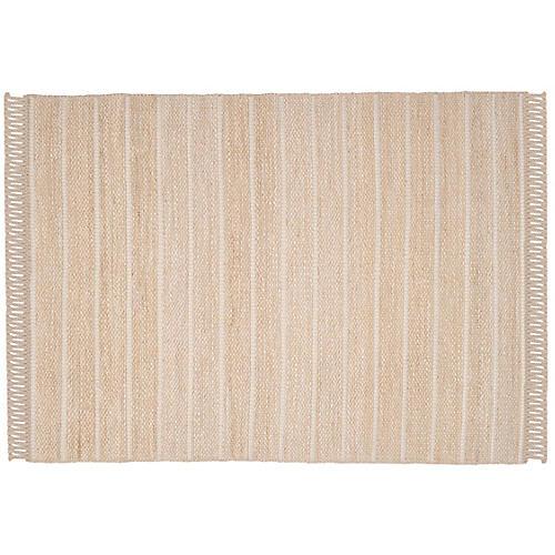 Wilu Jute-Blend Rug, Beige/Ivory
