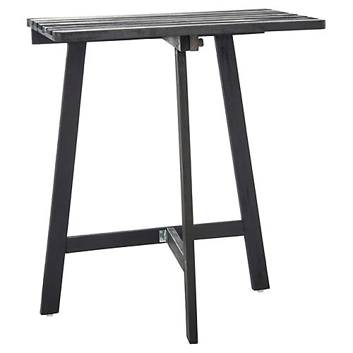 Harwich Balcony Table, Dark Slate Gray