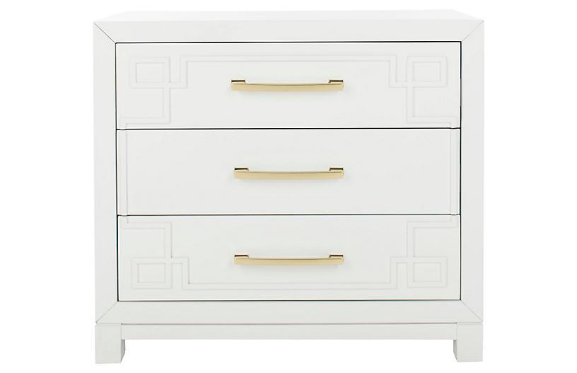 Capello Dresser, White