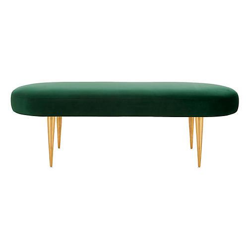 Loretta Bench, Emerald Velvet