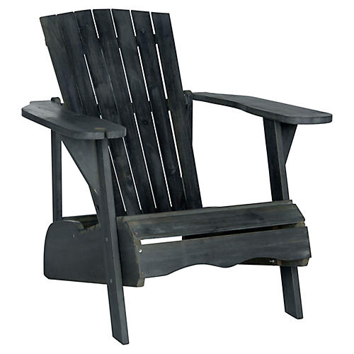 Vista Adirondack Chair, Dark Slate Gray