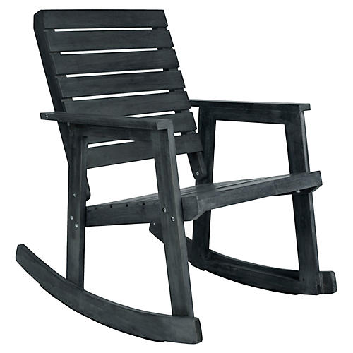 Roma Rocking Chair, Slate Gray