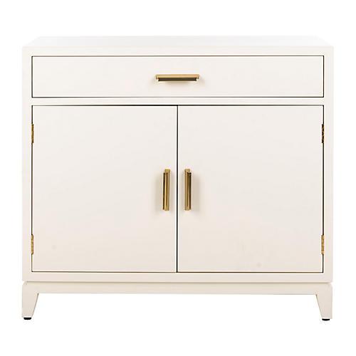 Huston Cabinet, White