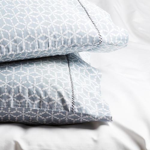 Majoor Standard Pillowcases, Gray