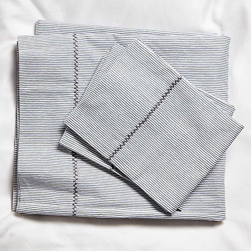 Capellini Sheet Set, Gray