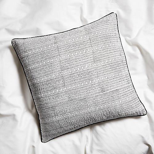 Jerico 22x22 Pillow, Black