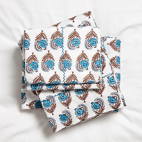 Ketaki Sheet Set, Sky