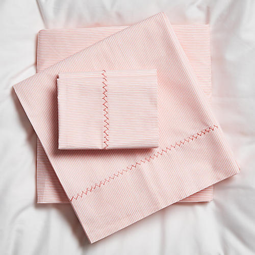 Capellini Sheet Set, Pink