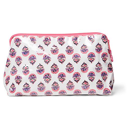 Mason Makeup Bag, Pink