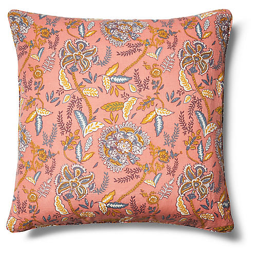 Valence Pillow Cover, Coral