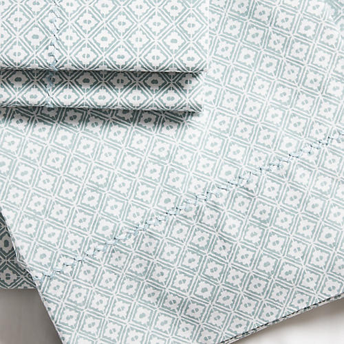 S/2 Dyne Pillowcases, Sage