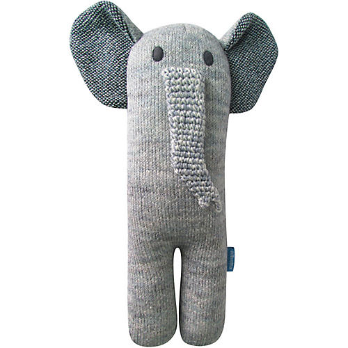 Jumbo Jr. Elephant Plush Toy, Gray