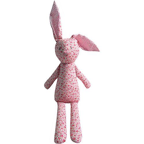 Babbitt Rabbit Plush Toy, Pink