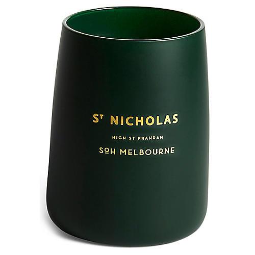 St. Nicholas Christmas Candle