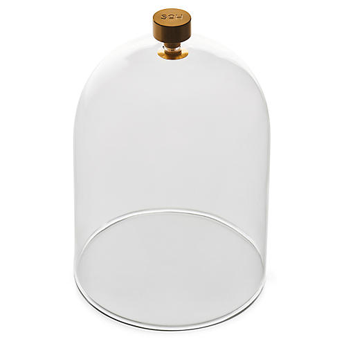 Cloche Candle Dome, Clear