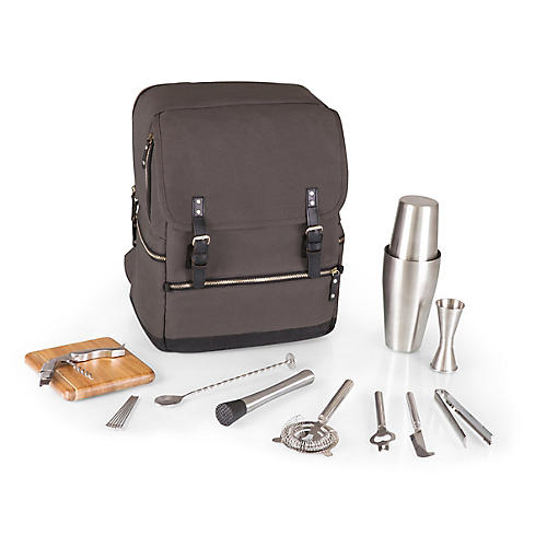 Bar Backpack Set, Gray/Multi