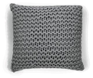 Links 18x18 Pillow, Gray