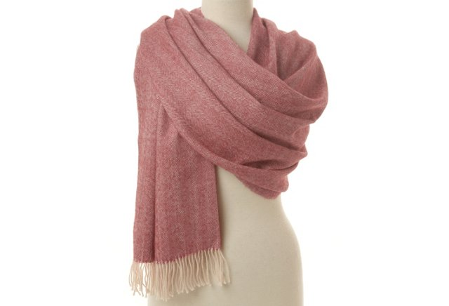 Maxi Scarf, Pink