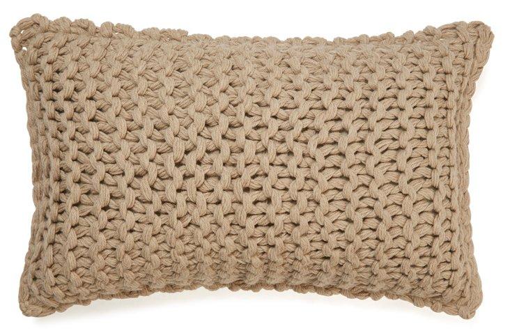 Links 13x21 Pillow, Camel