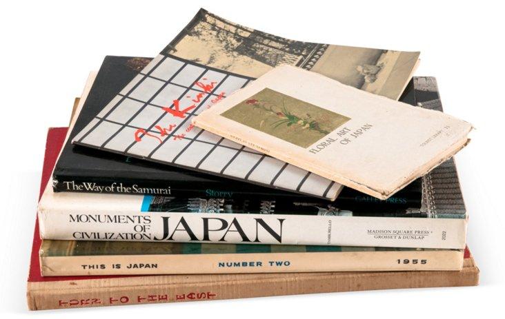 Japan/China Book Collection, 6 Vols.