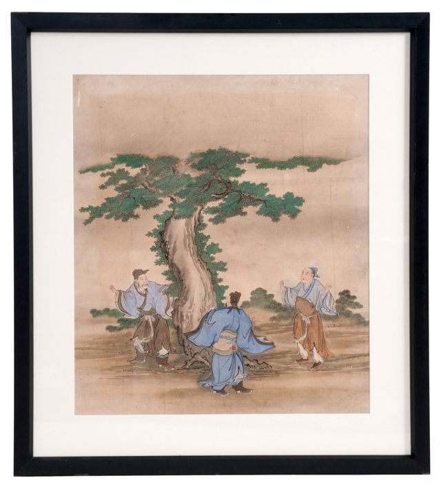 Framed Chinese Painting II