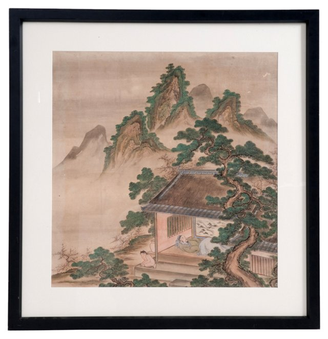 Framed Chinese Painting IV