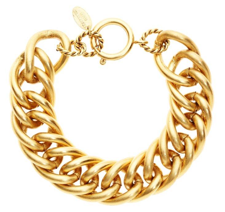 24K Gold Plated Gus Bracelet