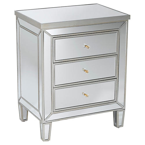 Bella Dresser, Mirrored
