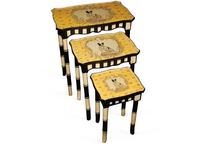 * MacKenzie Stacking Tables, Set of 3