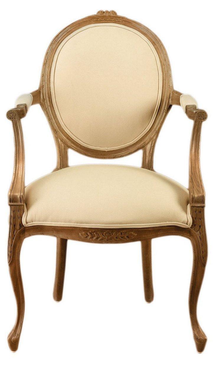 Barnes Linen Armchair