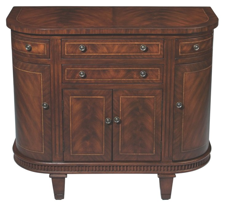 Felicity Cabinet, Wheat/Cherry