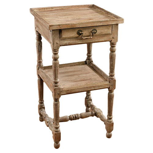 Andrew Nightstand, Weathered Sand