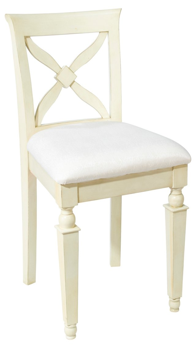 Davis Counter Stool, Cream