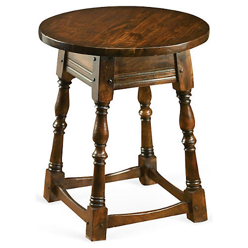 Halls Side Table, Walnut